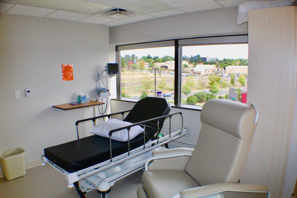 Cherry Creek Plastic Surgery Center recovery room